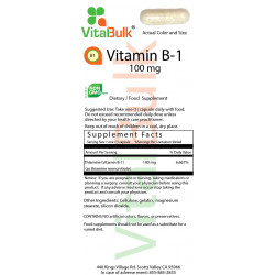 Vitamin B-1 100 mg (50 Count)