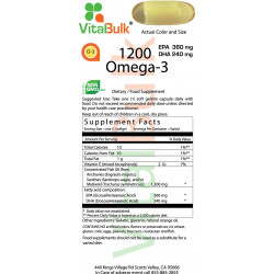 Omega-3 1200mg (100 Count)