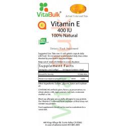 Витамин E 400 IU (250 шт.)
