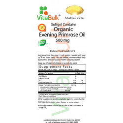 Evening Primrose Oil   500 mg  250 Count