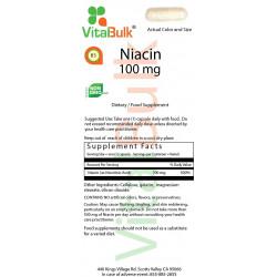 Niacin 100 mg (100 Count)