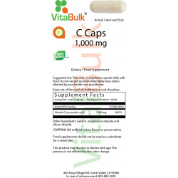 С Caps 1,000 mg (250 Count)