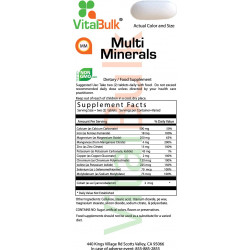 Multi Minerals (100 count)