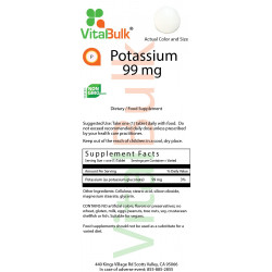 Potassium 99 mg (250 Count)