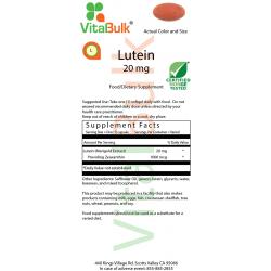 Лютеин 20 мг Softgel - 30 Количество мешок 583-02