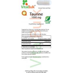 Таурин 1000 мг в капсулах (100 шт.) 735-06
