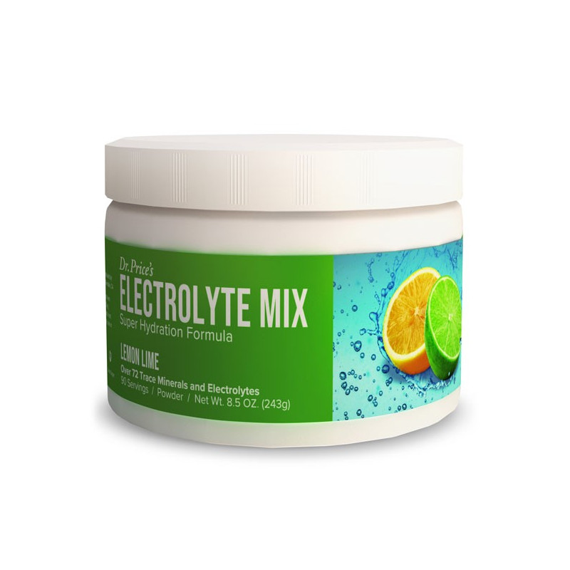 Electrolyte Mix Lemon-Lime Flavor – 90 Servings